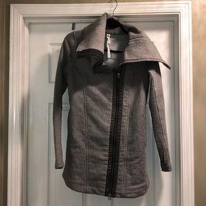Lululemon longer length zip sweater/jacket